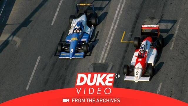 Schumacher vs Hakkinen legendary duel at Macau 1990