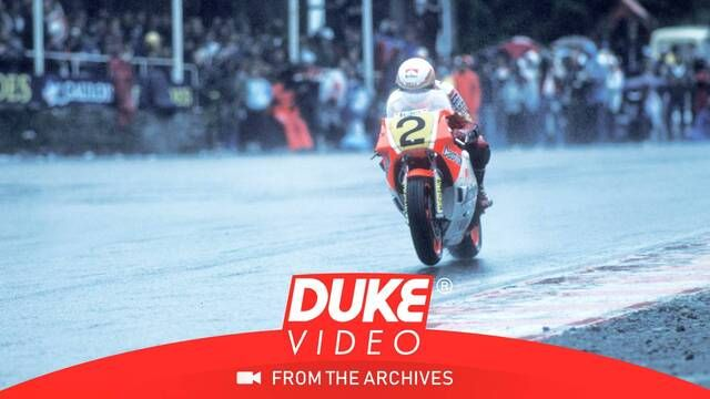 Spa 1986: 500er-Action im Regen