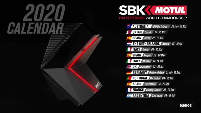 Calendrier Magny Cours 2020.Le Calendrier 2020 Du World Superbike Est Annonce
