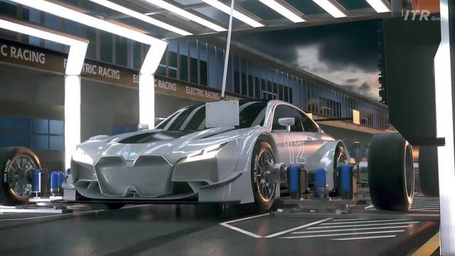 DTM's futuristic conceptual vision for an all-electric touring car series.