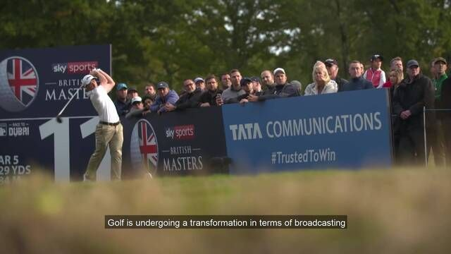 The revolutionary Proof of Concept at the European Tour British Masters with live 360° video in 8K