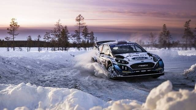 Arctic Rally Finland: Highlights proef 9