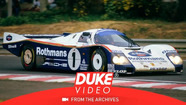 Rothmans Porsche drivers give comments ahead of Le Mans 1986