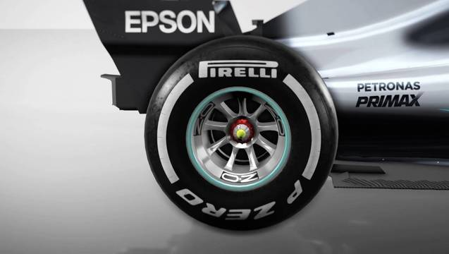 Why Mercedes changed their rear wheel rims