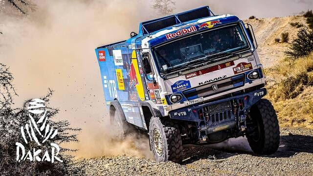 Rallye Dakar 2020: Highlights Trucks Etappe 9