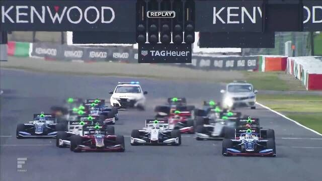 Super Formula Round 7 - Suzuka: race start