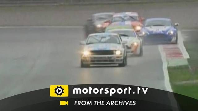 GT4 European Cup: Aston Martin goes sideways!