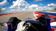 Onboard lap with Kanaan at COTA