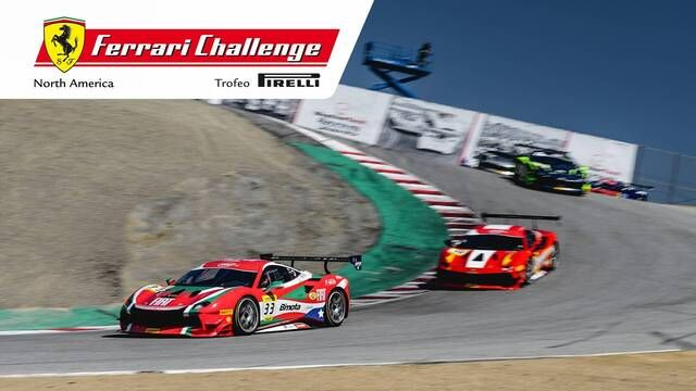 Onboard at Laguna Seca with David Musial