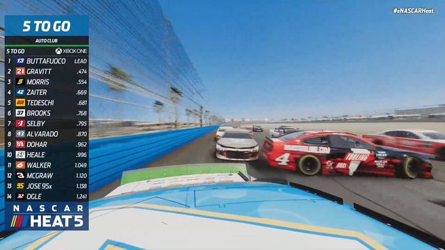 eNHPL Xbox Race Recap: NASCAR Cup Series at Auto Club Speedway