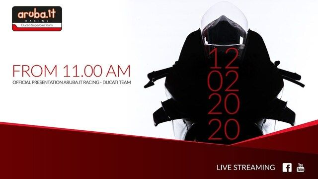 Presentazione Aruba.it Racing - Ducati team 2020