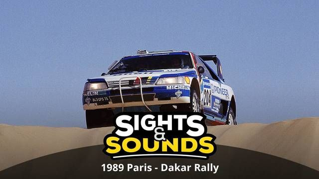 Sights & Sounds: 1989 Paris - Dakar Rally