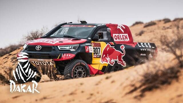 Dakar-Highlights 2021: Etappe 8 - Autos