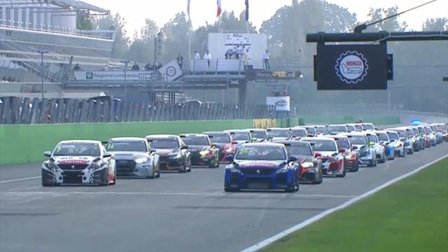 TCR Europe: Monza race start