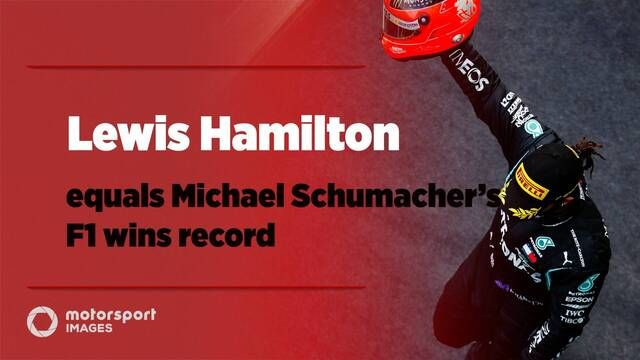 Grand Prix Greats – Lewis Hamilton equals Michael Schumacher's F1 wins record