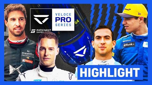 Veloce Pro Series in Partnership with Motorsport Games Race Highlights