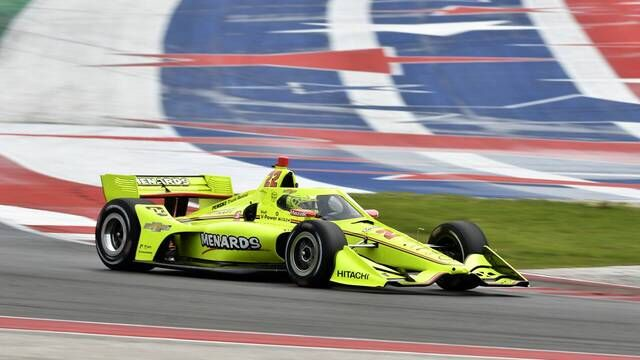 IndyCar-Test in Austin: Tag 2, Highlights