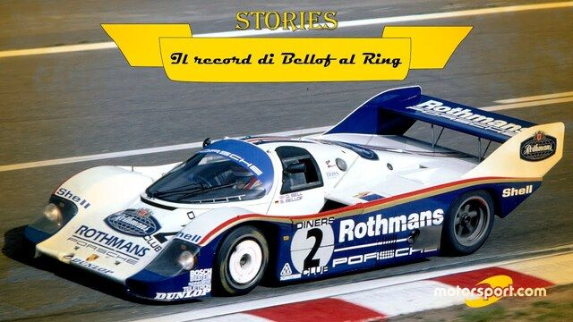 Stories: 28 maggio '83, il record immortale di Bellof