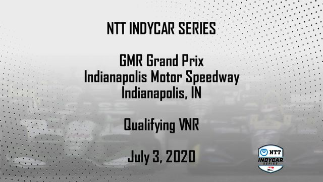 IndyCar: GMR Grand Prix Qualifying