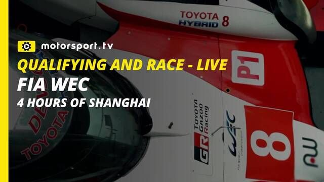 FIA WEC 4 Hours of Shanghai w Motorsport.tv