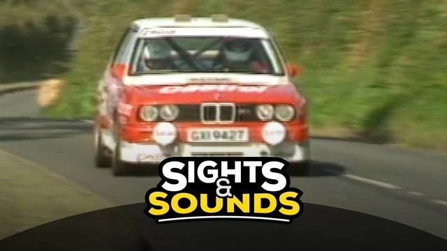 Sights & Sounds: un BMW M3 en Isla de Man 1988