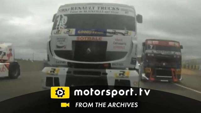 European Truck Championship 2011: Sideways at Le Mans