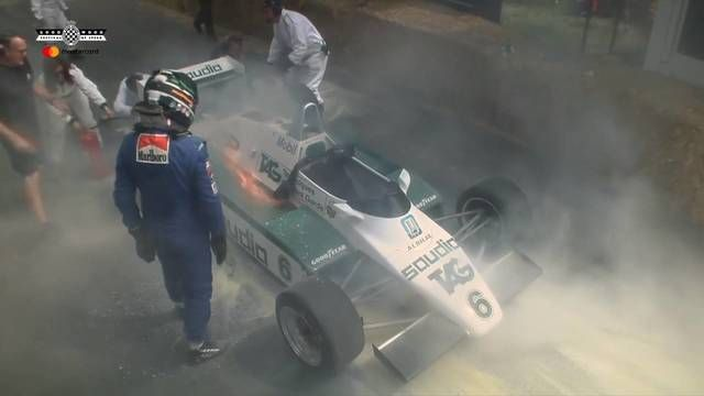 Goodwood FOS: Williams on fire