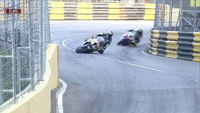 Macau GP - Motorcycle Grand Prix: Session stopped