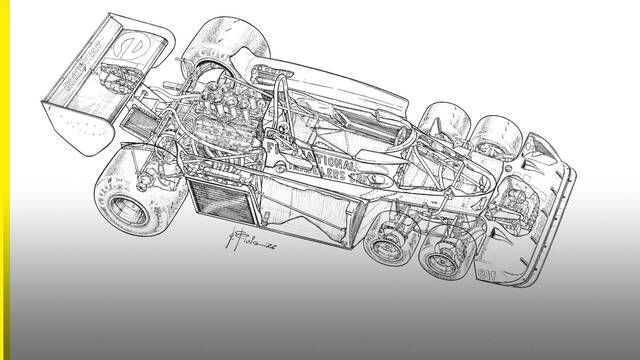 Getting under the skin of the six-wheeled Tyrrell P34