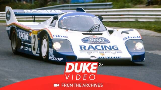 Stefan Bellof breaks lap record at the Nordschleife in his Porsche 956