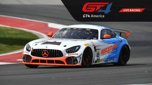 Live: VIRginia - GT4 America Sprint - Race 3