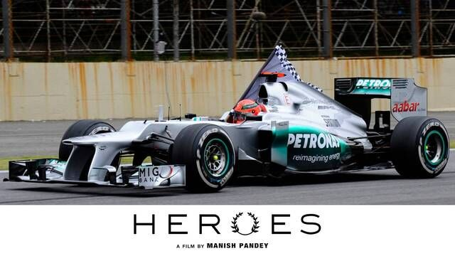 Heroes: Sunsets, Michael Schumacher