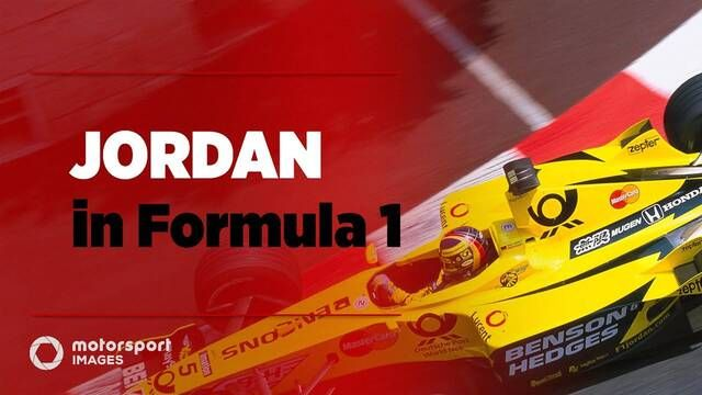 Grand Prix Greats - Jordan di F1