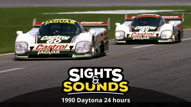 Sights & Sounds : Les 24H de Daytona 1990