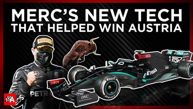 The Updates That Helped Mercedes To Victory In Austria
