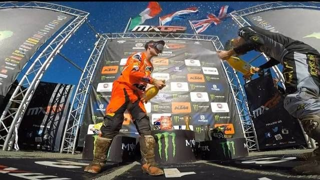 Podium Reactions - MXGP of Belgium