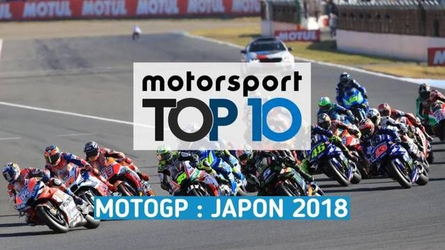 Top 10 - Grand Prix du Japon