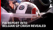 FIA report in to Belgian GP crash reveals how it saved Leclerc