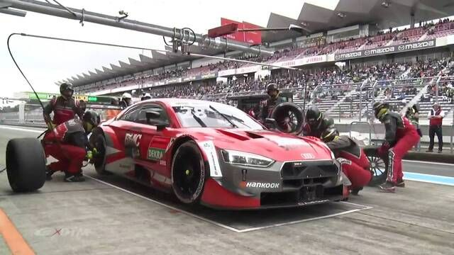 SUPER GT x DTM Dream Race: el pinchazo de Loic Duval