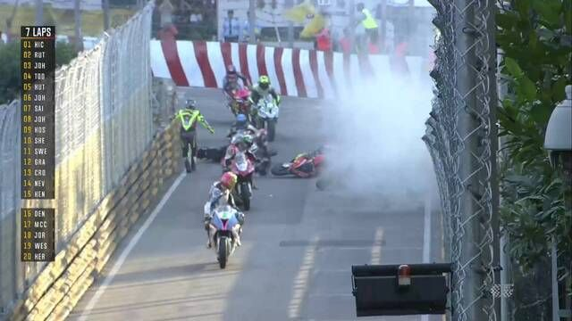 Macau GP - Motorcycle Grand Prix: Another red flag