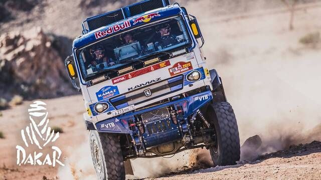 Rallye Dakar 2020: Highlights Trucks Etappe 2