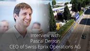 Interview de Pascal Derron, CEO de Swiss E-Prix Operations AG
