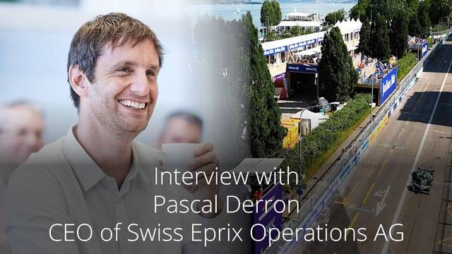 Intervista a Pascal Derron, CEO della Swiss E-Prix Operations AG