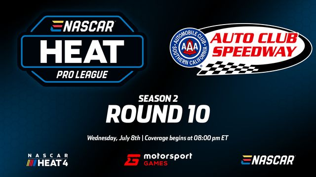 Live: eNASCAR Heat - Pro League - Round 10