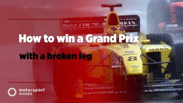 Grand Prix Greats – How to win a Grand Prix with a broken leg