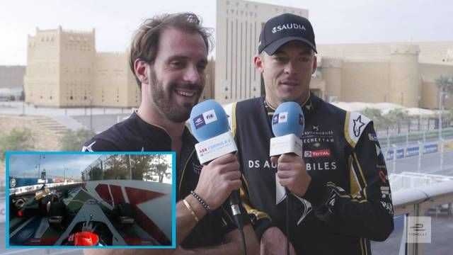 Taking The Mic: Marrakesh | Formula E Drivers React To Last Year's Race!