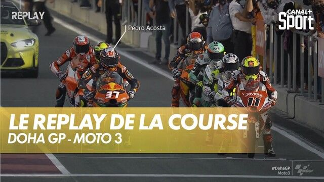 Le replay du GP de Doha Moto3