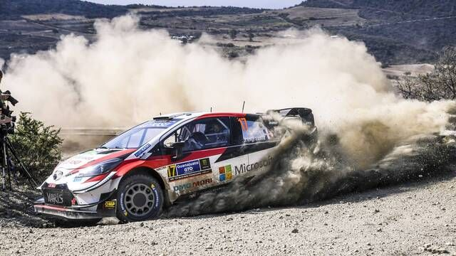 WRC: Rally Mexico SS1-4