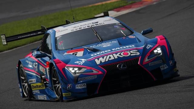 SUPER GT: Lexus makes pitstop 'under' safety car