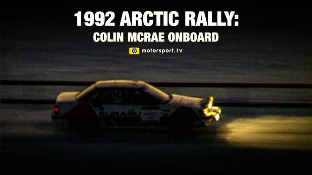 Arctic Rally 1992 - Colin McRae
